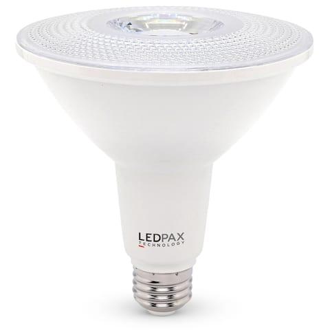 LEDPAX PAR38 Dimmable LED Bulb, 15W (100W equivalent), 3000K, 1200 Lumens,CRI 80, UL, ES Certified (4 Pack)