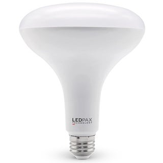 LEDPAX BR40 Dimmable LED Bulb, 15W (85W equivalent), 2700K, 1100 Lumens,CRI 90, UL, ES Certified (4 Pack)