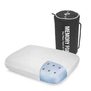 DreamSmart On the Go Pillow - White