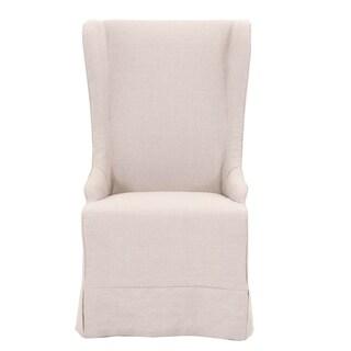 Leonard Oatmeal Linen Dining Chair