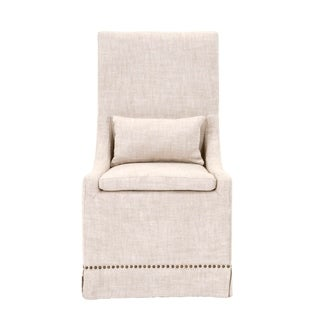 William Bisque French Linen Dining Chair (Set of 2)