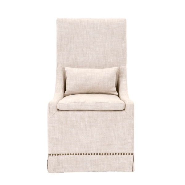 Shop William Bisque French Linen Dining Chair Set Of 2