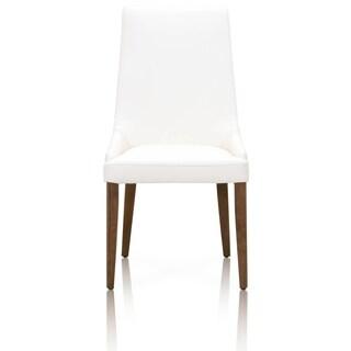 Archie Alabaster Walnut Dining Chair (Set of 2)