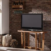 Berkshire Natural Live Edge Media Console Table, Natural