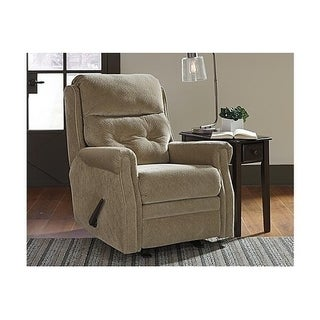 Signature Design by Ashley Caramel Gorham Glider Recliner