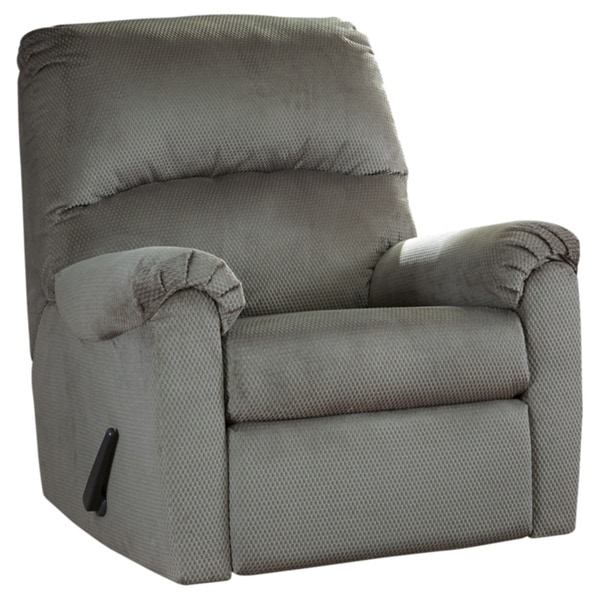 Signature Design by Ashley Alloy Bronwyn Swivel Glider Recliner