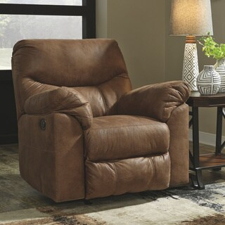 Signature Design by Ashley Bark Boxberg Power Rocker Recliner