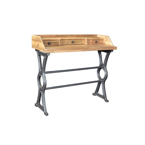 Aurelle Home Industrial Rustic Desk