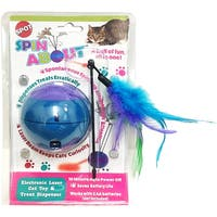 Spot Spin About Electronic Laser Cat Toy & Treat Dispenser