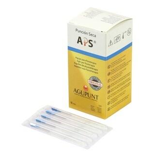APS Dry Needling Needle, 0.32 x 40mm, Blue Tip, 100/Box