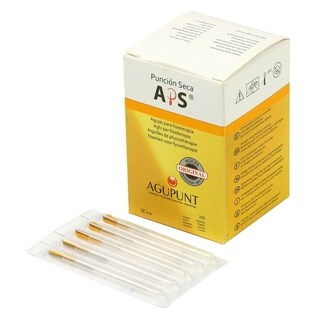 APS Dry Needling Needle 030 x 30mm Gold Tip (Box of 100)