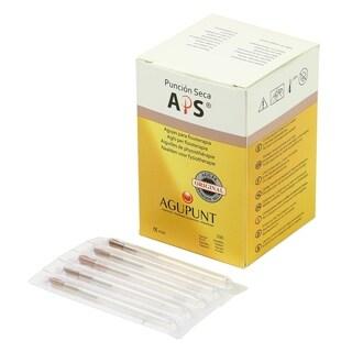 APS Dry Needling Needle 025 x 30mm Brown Tip (Box of 100)