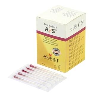 APS Dry Needling Needle 025 x 13 mm Dark Pink Tip (Box of 100)