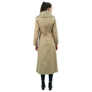 Women's Long Double Breated Coat