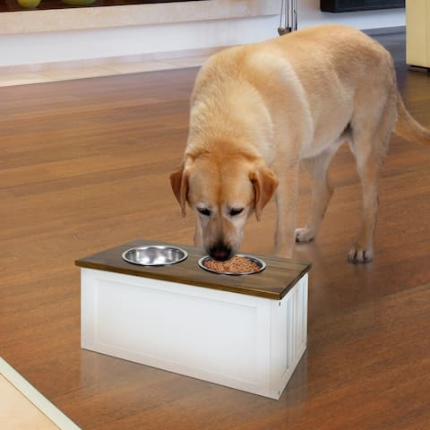 Pet Feeder Storage Stand