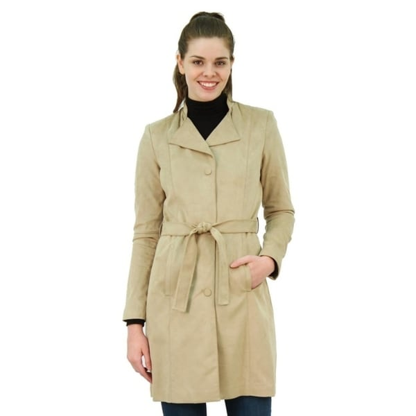 2d8a2b07b0325 Shop Women s Plus Size Faux Suede Jacket - Free Shipping Today - Overstock  - 20969847