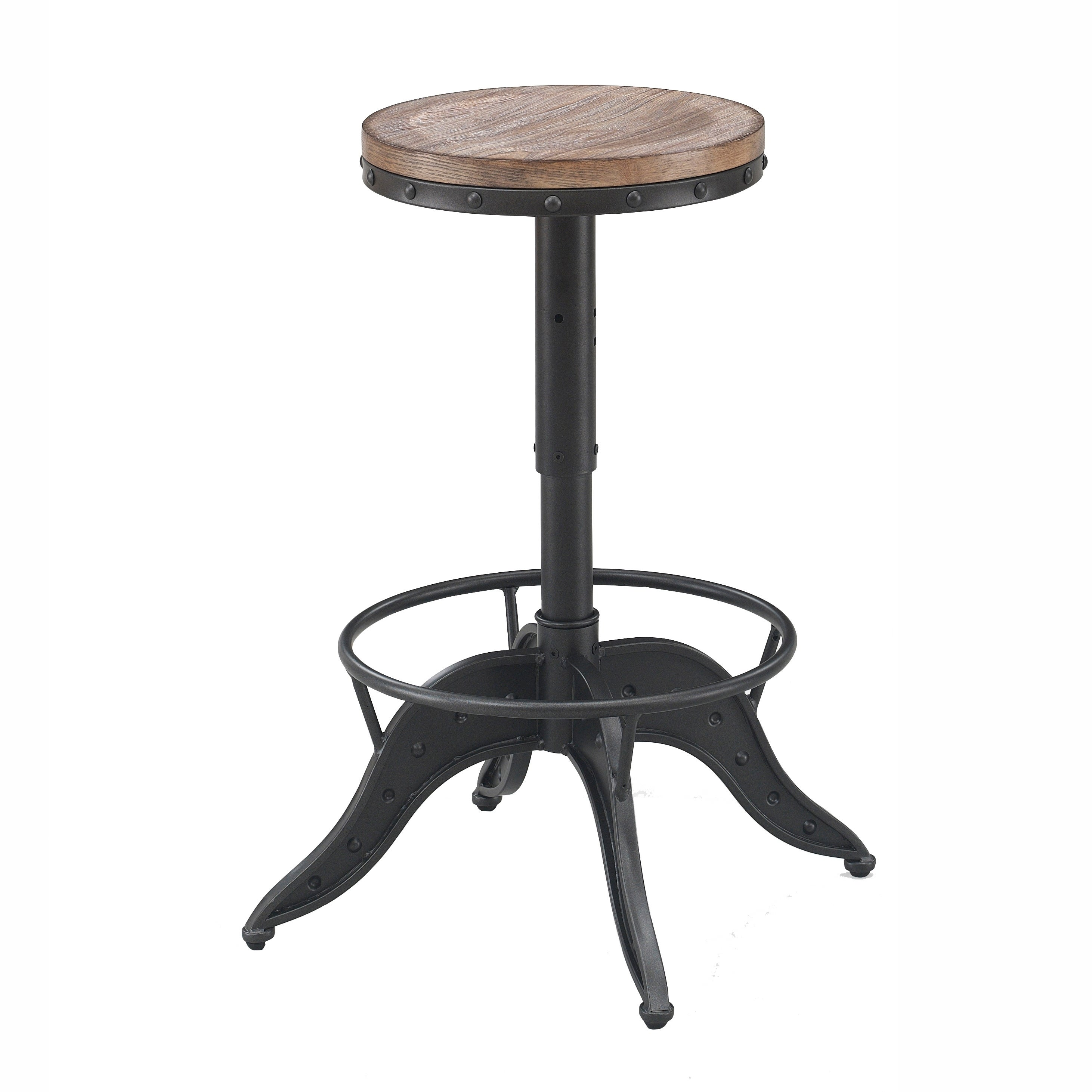 Fine Stella Adjustable Height Backless Swivel Bar Stool By Greyson Living Pabps2019 Chair Design Images Pabps2019Com