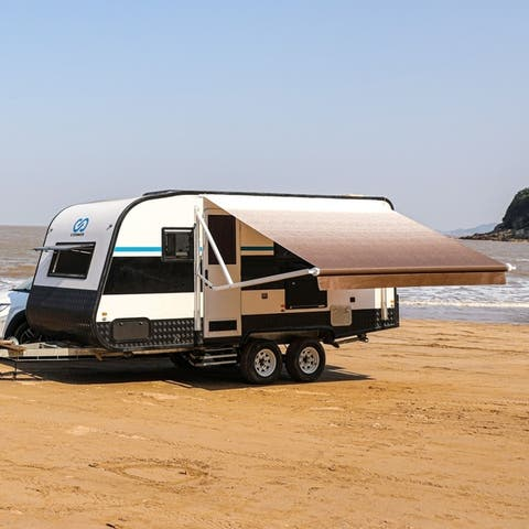 ALEKO Retractable 13'X8' Motorized RV or Home Patio Canopy Awning