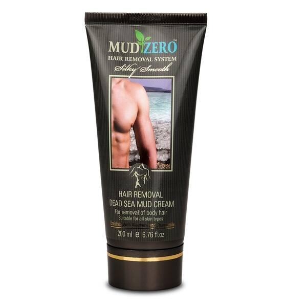 Shop Mudzero Dead Sea Hair Removal Cream For Men 200ml Overstock