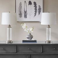 510 Design Clarity Silver Table Lamp (Set Of 2)