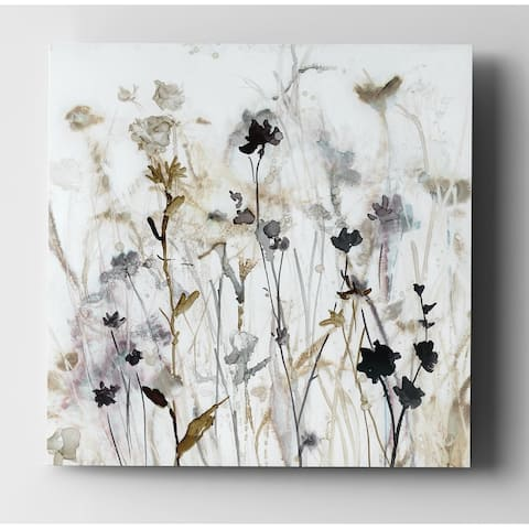 'Wildflower Mist I' Gallery-wrapped Canvas Wall Art