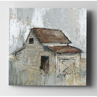 Barn at Midday - Premium Gallery Wrapped Canvas