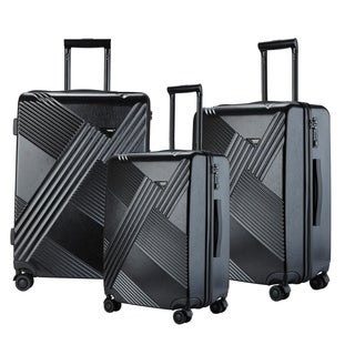 Travelers Club Percy Collection 3-Piece Spinner Luggage Set