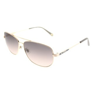 Fossil Aviator 3058/S AU2 WC Unisex Rose Gold Frame Brown Gradient Lens Sunglasses