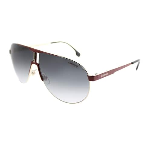 Carrera Aviator Carrera 1005/S AU2 Unisex Red Gold Frame Grey Gradient Lens Sunglasses