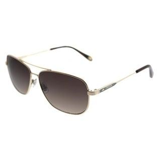 Fossil Aviator 3058/S 3YG CC Unisex Light Gold Frame Brown Gradient Lens Sunglasses