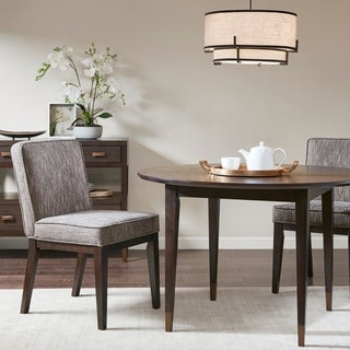 """Link to Madison Park Syracuse Brown Dining Chair (Set of 2) - 20""""w x 25""""d x 34.75""""h Similar Items in Dining Room & Bar Furniture"""