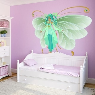 "Butterfly Myth Cartoon Full Color Wall Decal Sticker K-650 FRST Size 46""x56"""