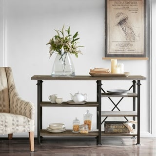 Madison Park Kagen Grey Sideboard