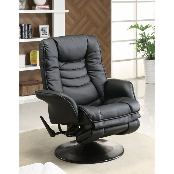 Opulently Functional Glider Chair, Black