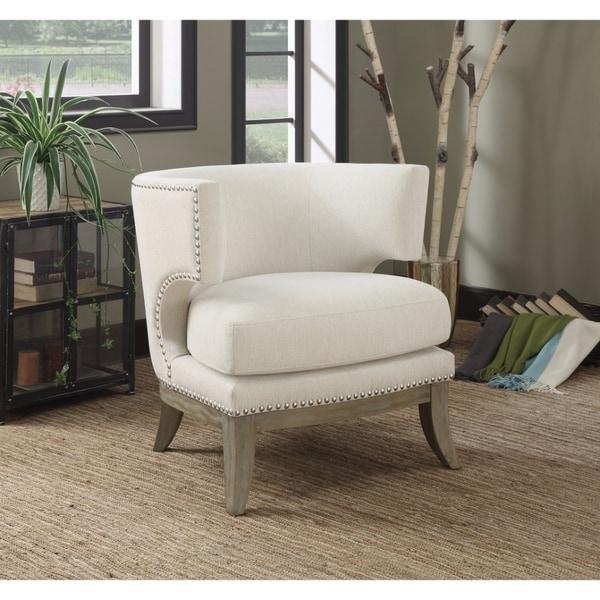 Shop Versailles Accent Chair Pillow Ivory Velvet Amp Bone