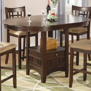Dilate Counter Height Dining Table, Warm Brown