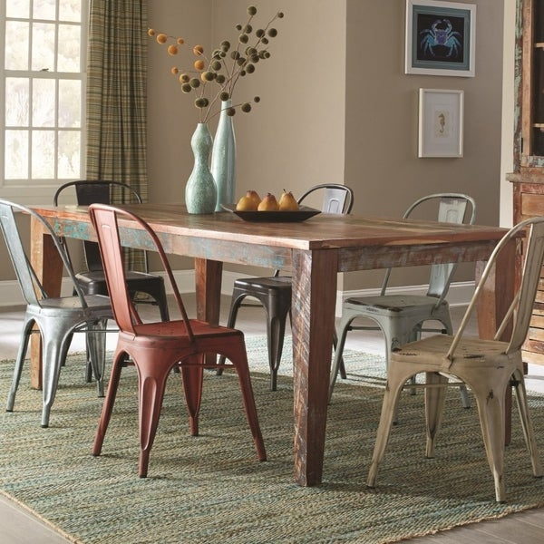 Shop Rustically Charmed Multi Color Dining Table