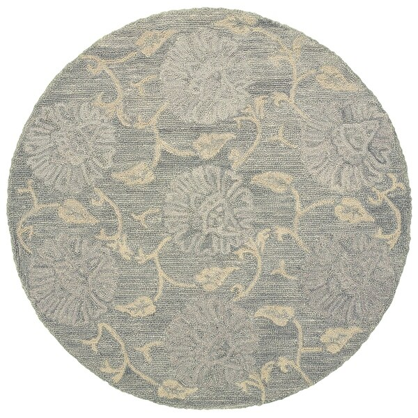 LR Home Dazzle Traditional Jacobean Indoor Area Rug ( 6 ft x 6 ft ) - 6' x 6'