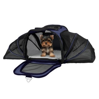 Airline compliant expandable pet carrier