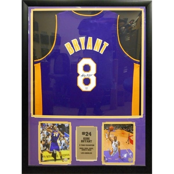cf10ad360f2 Shop 30x34 Framed Authentic 2004-2005 Used Game Jersey - Kobe Bryant Los  Angeles Lakers - Free Shipping Today - Overstock - 20977158