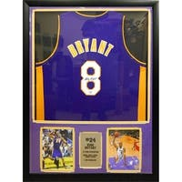 30x34 Framed Authentic 2004-2005 Used Game Jersey -  Kobe Bryant Los Angeles Lakers