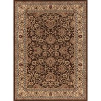 "Concord Global Ankara Palace Brown Rug - 6'7"" x 9'6"""