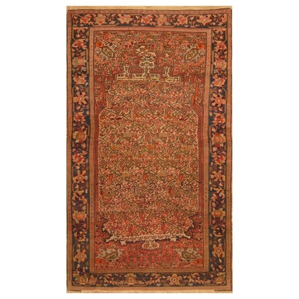 5 X 6 Vintage Kazak Persian Oriental Wool Hand Knotted: Shop Handmade Herat Oriental Persian Hand-knotted Antique