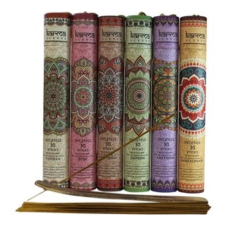 Karma Incense Sticks Variety 6-Pack