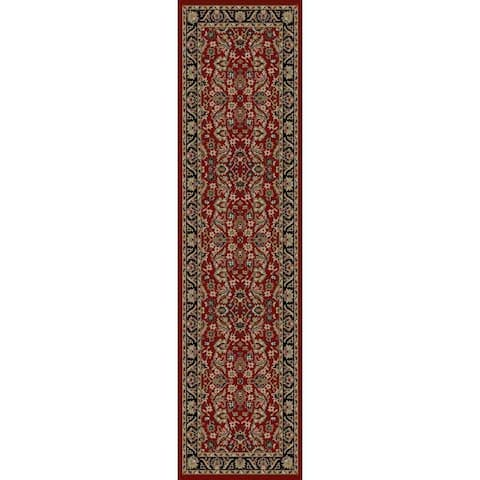 "Concord Global Ankara Royals Red Runner - 2'2"" x 7'3"" Runner"