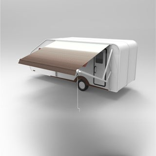 ALEKO 16'X8' Retractable Motorized RV or Home Patio Canopy Awning