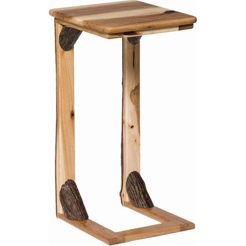 Magnificent Hickory Over The Arm Sofa Table Caddy Machost Co Dining Chair Design Ideas Machostcouk
