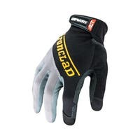 Ironclad Black Men's Large Silicone-Fused Work Gloves