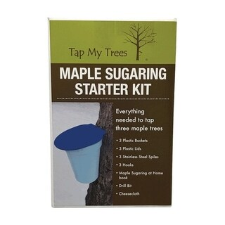 Tap My Trees Maple Sugaring Plastic Bucket Starter Kit