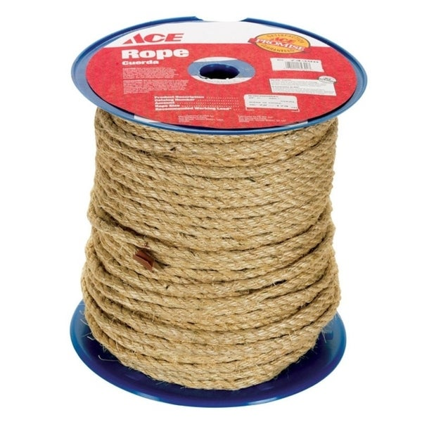Wellington 3/8 in  Dia  x 365 ft  L Twisted Sisal Rope Tan